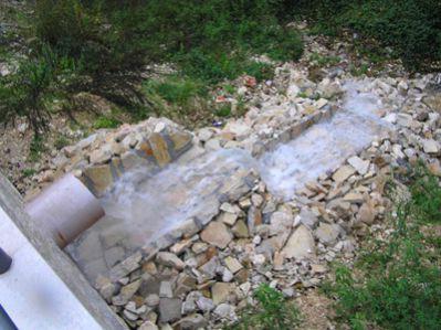 Stari Labin bez kanalizacije
