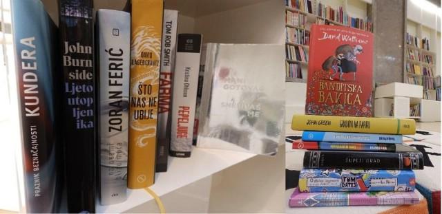 Najčitaniji naslovi u 2016. u Gradskoj knjižnici Labin