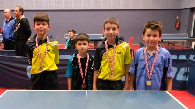 DRUGI OTVORENI TURNIR ISTARSKE ŽUPANIJE / Leo Bernaz osvojio dvije bronce na Trećem otvorenom turniru za mlađe kategorije Istarske županije