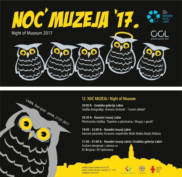 Narodni muzej Labin i ove godine u manifestaciji Noć muzeja!