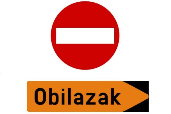 Obavijest o radovima na dionici od Vozilića do raskrižja prema Kršanu