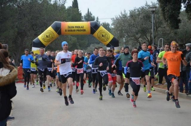 Barbara Belušić najuspješnija u 6. kolu Istarske zimske lige u trčanju