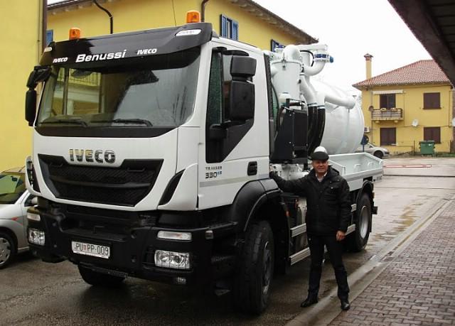 Labinski Vodovod nabavio novo vozilo za pražnjene septičkih jama