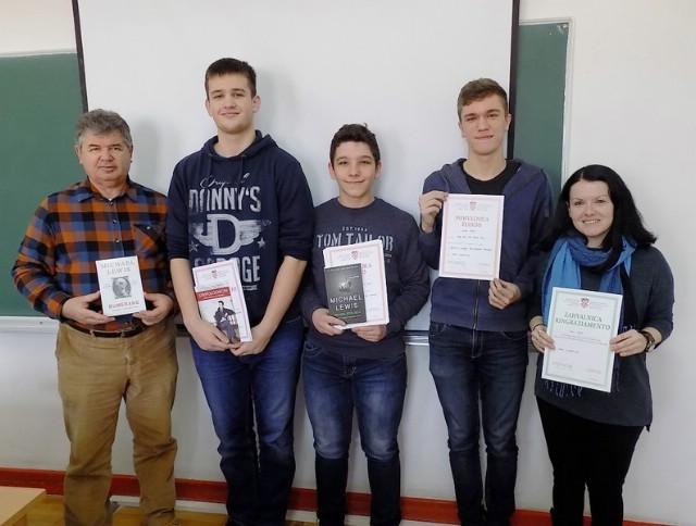 Karlo Frankola i Marko Damjanić osvojili 1. mjesta na Županijskom natjecanju iz informatike INFOKUP 2017