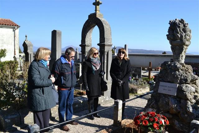 Položeno cvijeće povodom rođendana Giuseppine Martinuzzi