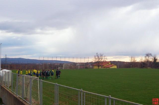 U Nedešćini kontrolna utakmica dviju vodećih momčadi Međužupanijske nogometne lige Rudara i Lošinja