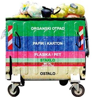 Probno selektiranje otpada u Viletama