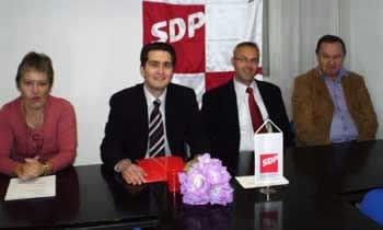 Daniel Mohorović SDP-ov kandidat za gradonačelnika (Audio)