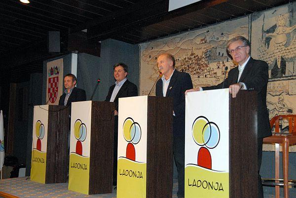 Izbori za kandidata Ladonje za istarskog župana 6. i 7. prosinca u Plominu i Labinu