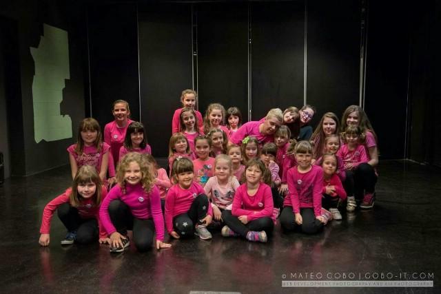 Studio MOVE ME - zumba kids Labin obilježio Dan ružičastih majica