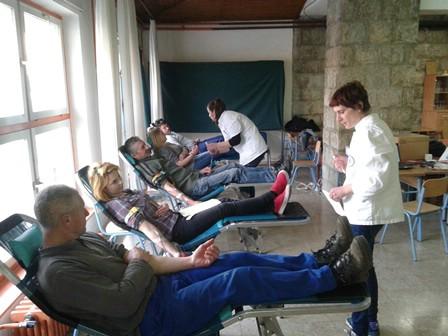 Na akciji u Labinu i Koromačnu prikupljeno 58 doza krvi