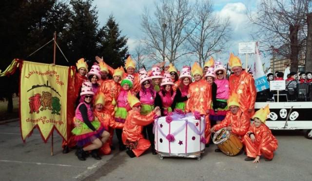 Sutra labinska karnevalska povorka