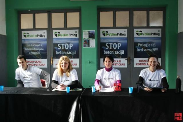 Peticijom protiv devastacije Prtloga