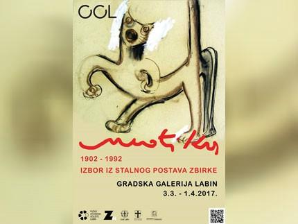 Izložba Antuna Motike u Gradskoj galeriji Labin, 3. 3. - 1. 4.