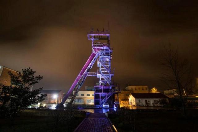 Osvijetljena dva simbola rudarske baštine
