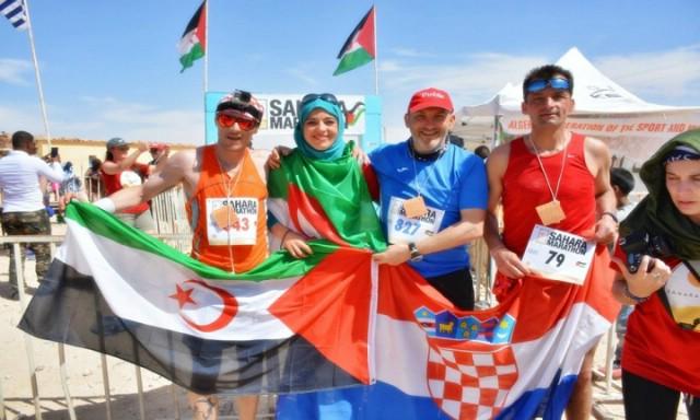 Ivan Stanić istrčao Sahara maraton