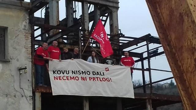 Radnička fronta: Nismo dali kovu – nećemo ni Prtlog