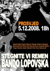 Veliki prosinački prosvjedi ipak će se održati: Sanaderovu vlast uzdrmala internetska generacija - centralni prosvjed za Istru u Puli!