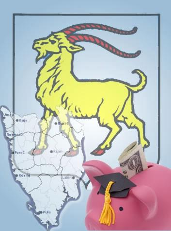 Istarska županija: bodovna lista stipendista za ak.god. 2008/09