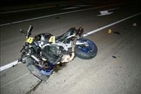 Zagorje (Općina Kršan): Teško ozlijeđen motociklist