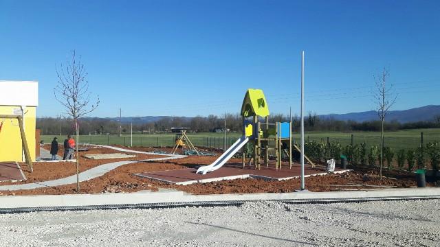 Hortikulturalno uređenje okoliša dječjeg vrtića u Kršanu i parka na Vinežu