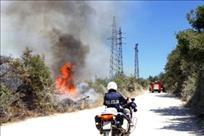 [UPOZORENJE PU ISTARSKE] U požaru u naselju Medigi kraj Pićna izgorilo 50 komada vinove loZe