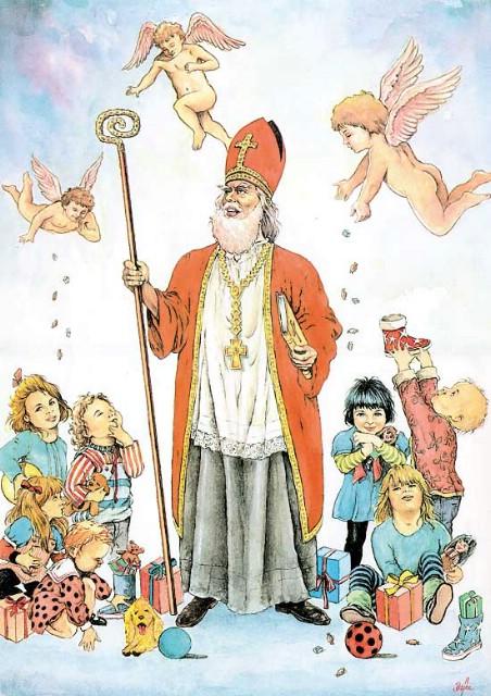 Sveti Nikola na trgu u Podlabinu