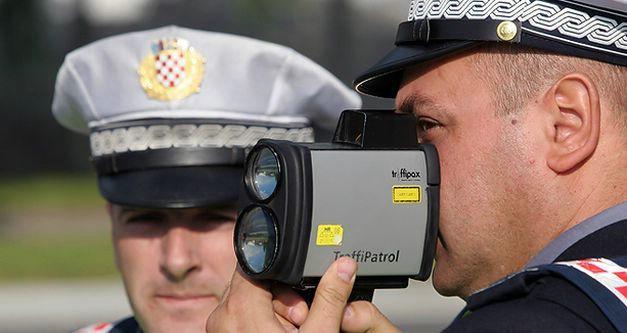 Kontrola alkoholiziranosti vozača i kontrola brzine kretanja vozila 1. travnja 2017 na području cijele Istarske županije