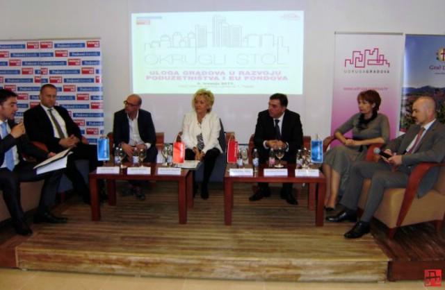 """U Rapcu održan okrugli stol """"Uloga gradova u razvoju poduzetništva i EU fondova"""""""