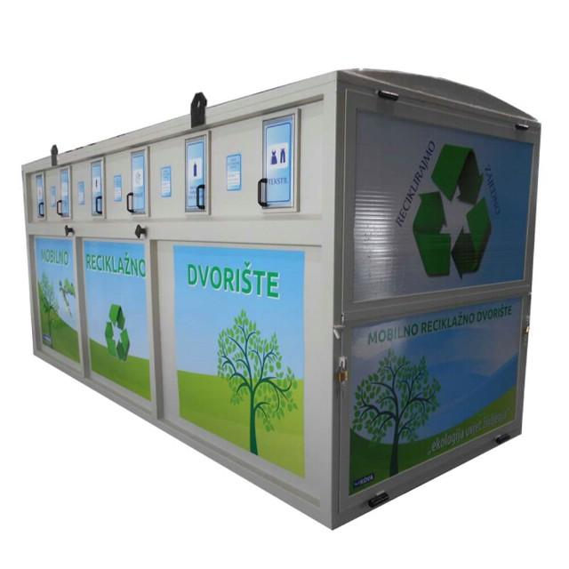 Raspored postavljanja mobilnog reciklažnog dvorišta na području Grada Labina