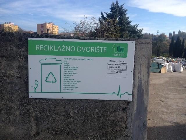 Novo radno vrijeme reciklažnog dvorišta Starci