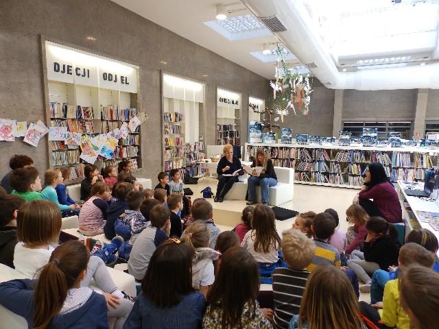 Međunarodni dan dječje knjige – Susret prvašića s dječjim autoricama Snježanom Akrap Sušac i Feodorom Gubaš Štifanić