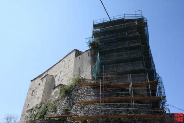 Obnova kule u Starom gradu Kršanu