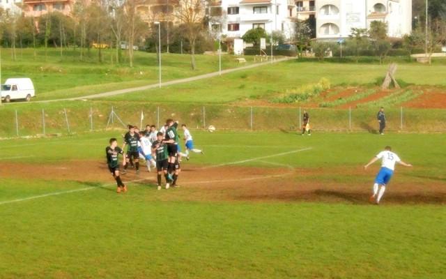 NK Rudar poražen osmini finala Kupa Istre u Vrsaru