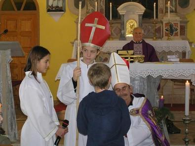 Sveti Mikula nakon 69 godina u Svetom Lovreču Labinskom