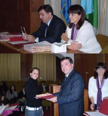 Grad Labin: Svečano potpisivanje ugovora o stipendiranju učenika i studenata (Audio)