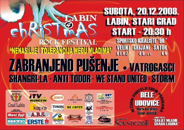 LABIN CHRISTMAS ROCK FESTIVAL 4 @ Đil, Labin 20.12.2008.