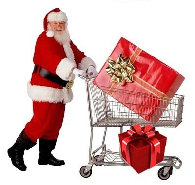 Podjela poklon paketa Djeda Božićnjaka