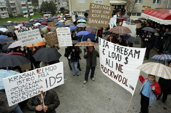 Županijska skupština sutra uz prosvjed raspravljat će o Rockwoolu