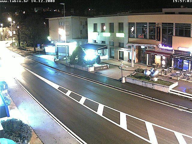 Labin uživo 2: Live web kamera na ulicu Zelenice u centru Grada