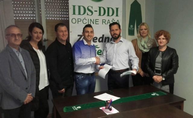 Raški IDS i Vijeće bošnjačke nacionalne manjine potpisali Sporazum o suradnji i podršci na predstojećim lokalnim izborima