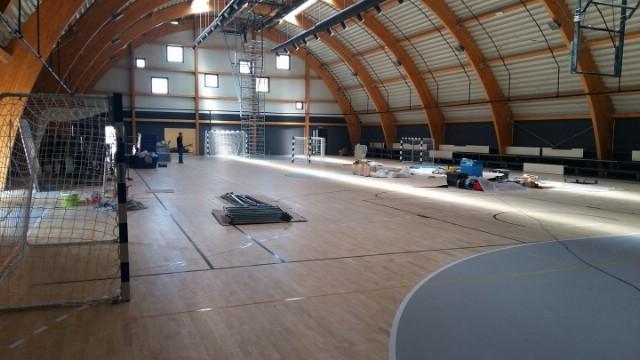 Otvaranje pomoćne sportske dvorane odgođeno za 15. svibnja