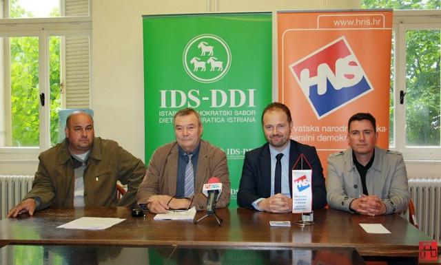 """Koalicija IDS-HNS u Svetoj Nedelji na izbore izlazi pod sloganom """"Čovjek i obitelj uvijek su nam bili na prvom mjestu"""""""