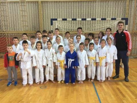 Judo klub METO Labin odličan na međužupanijskom natjecanju u Rovinju, ZITA LUKŠIĆ zlatna.
