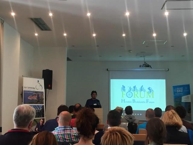 U Rapcu održan prvi Hrvatski Biciklistički Forum `Cikloturizam u Hrvatskoj`