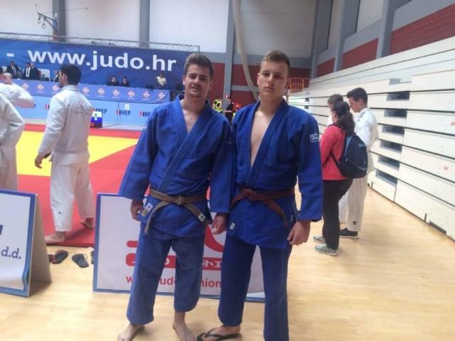 Juniori judo kluba METO nastupili na prvenstvu Hrvatske U21 u Zagrebu