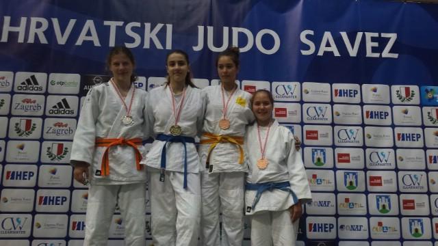 Bronca za Paolu Širol na Prvenstvu Hrvatske za juniore i kategoriju U-14, Zagreb 13. 05. 2017