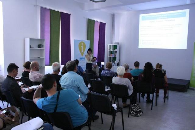 Zaklada i Ured za udruge predstavili mogućnosti financiranja za organizacije civilnoga društva kroz Program Europa za građane 2014-2020 i Europski socijalni fond