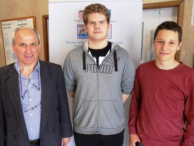 Fran Diminić i Antonio Korša srebrni na međunarodnom natjecanju `Balkan junior`