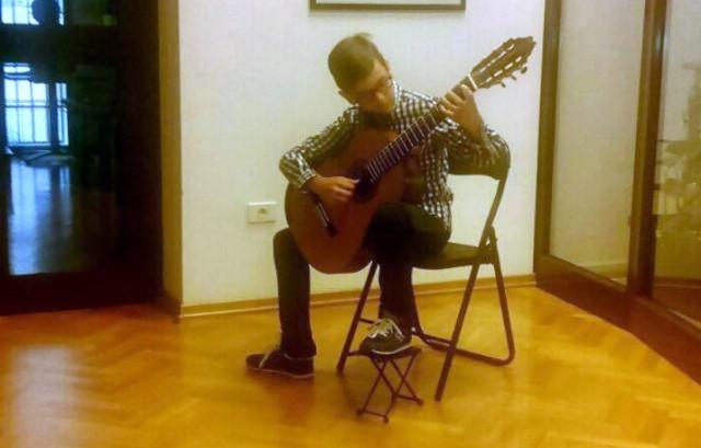 Matiji Vugriničeku prva nagrada na Guitar festu